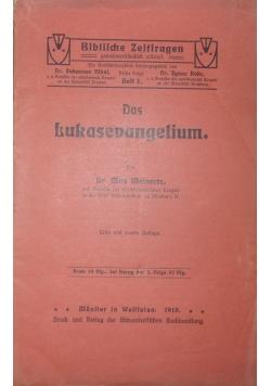 Das Lukasevangelium, 1910 r.