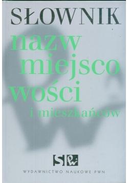 Słownik nazw miejscowości i mieszkańców