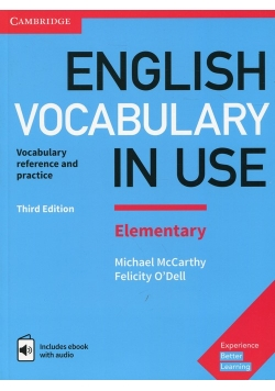 English Vocabulary in Use Elementary with answers and ebook with audio