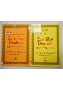 Zertifikat Deutsch. Materiały dydaktyczne ICC, cz. I-II