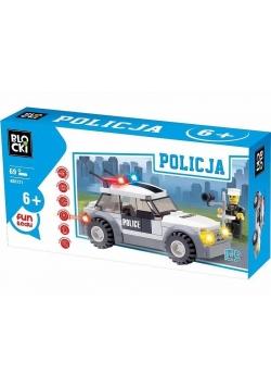 Klocki Blocki Policja Radiowóz