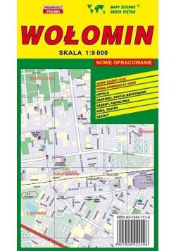 Wołomin 1:9 000 plan miasta PIĘTKA