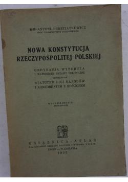 Nowa Konstytucja Rzeczypospolitej Polskiej, 1935 r.