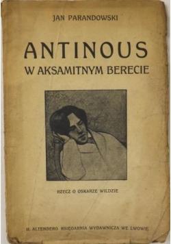 Antinous w aksamitnym berecie, 1921 r.