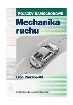 Mechanika ruchu. Pojazdy samochodowe w.2016