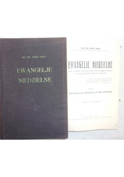 Ewangelie niedzielne, Tom I-II, 1936 r.
