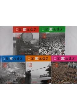 Dekady, Tom I - IV, z płytami CD