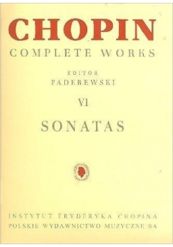 Chopin Complete Works VI Sonaty