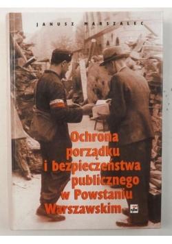 Ochrona porządku i bezpieczeństwa publicznego w Powstaniu Warszawskim