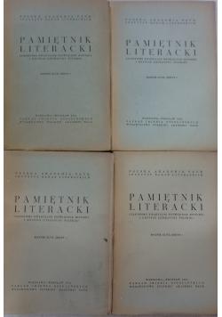 Pamiętnik literacki rocznik XLVII, zeszyt 1- 4