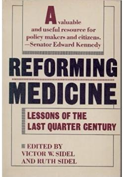 Reforming Medicine