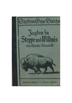 Jagden in Steppe und Wildnis, 1913r.