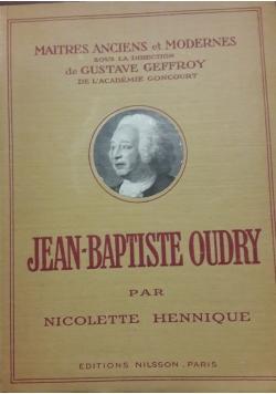 Jean-Bapatiste Oudry, 1926r.