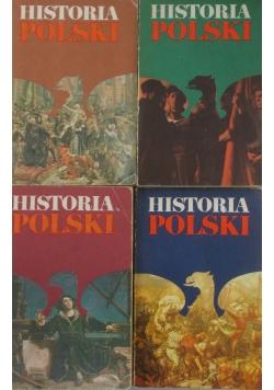 Historia Polski, tom I-IV