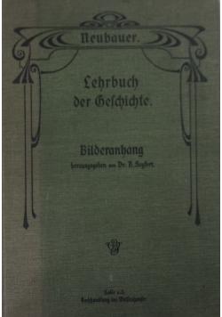 Lehrbuch der Deschichte ,1906r.