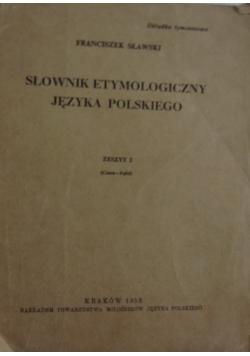 Słownik etymologiczny języka polskiego, zeszyt 2