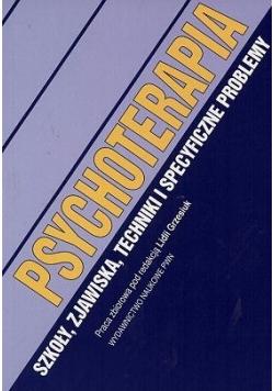 Psychoterapia. Szkoły, zjawiska, techniki i specyficzne problemy