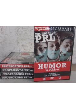 Propaganda PRL-u: najzabawniejsze Polskie Kroniki Filmowe, DVD, 6 części