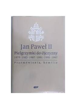 Jan Paweł II pielgrzymki do Ojczyzny