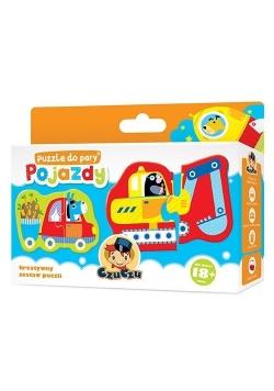 Puzzle do pary - Pojazdy