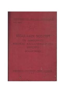 Regulamin musztry sił zbrojnych Polskiej Rzeczypospolitej Ludowej