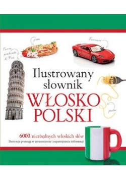 Ilustrowany słownik włosko-polski (zielony)