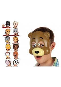 Maska dziecięca zwierzątka