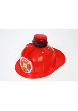 Hełm strażaka ze światłem