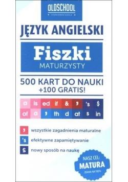 Fiszki maturzysty. Język angielski. 500 kart
