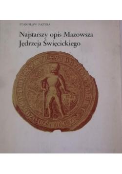 Najstarszy opis Mazowsza Jędrzeja Święcickiego