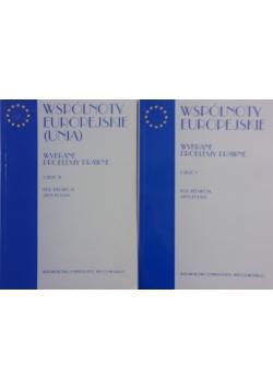 Wspólnoty europejskie (Unia). Wybrane problemy prawne część I, II