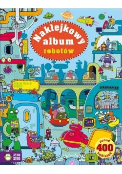 Naklejkowy album robotów
