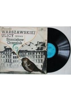 Piosenki warszawskiej ulicy , płyta winylowa