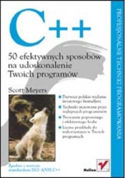 C++ 50 efektywnych sposobów na udoskonalenie Twoich programów