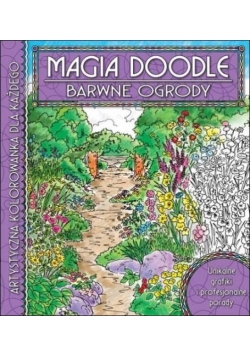 Magia Doodle. Barwne ogrody