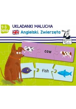 Układanki malucha. Angielski. Zwierzęta (1-3 lat)
