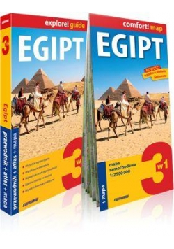Explore!guide Egipt 3w1 przewodnik+atlas+mapa