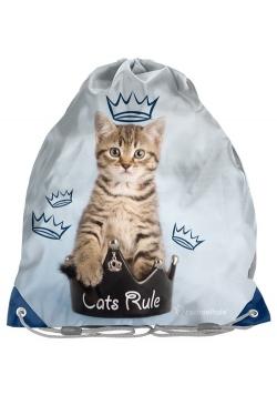 Worek na obuwie Cats rule