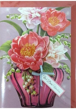 Karnet urodziny B6 Premium 1 + koperta