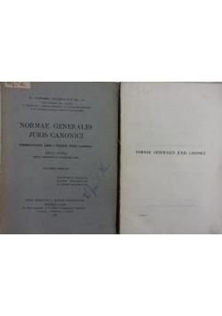 Normae generales juris canonici, 1949r.