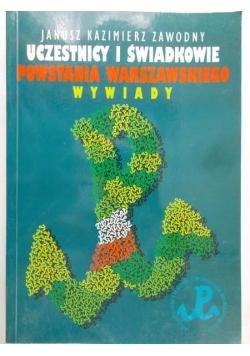 Uczestnicy i świadkowie Powstania Warszawskiego. Wywiady