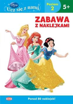 Disney Ucz się z nami Księżniczka Zabawa z naklejkami