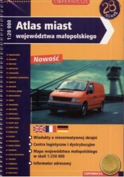 Atlas miast województwa małopolskiego 1:20000