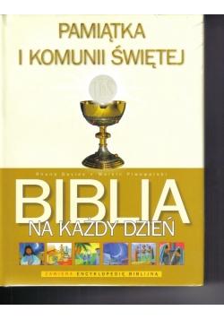 Pamiątka I Komunii Św. - Biblia na każdy dzień