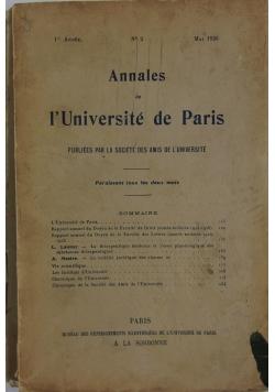 Publiees par la societe des amis de l'universite, 1926r.1