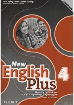 New English Plus 4 Materiały ćwiczeniowe Wersja podstawowa