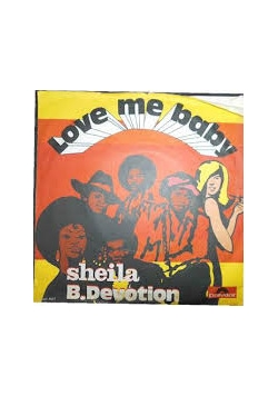 Love me baby, płyta winylowa