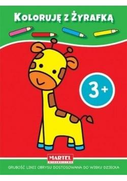 Koloruję z żyrafką 3+