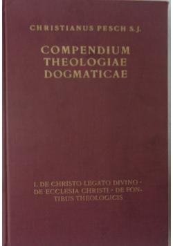 Compendium Theologiae Dogmaticae, 1864 r.