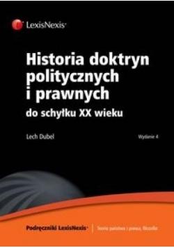 Historia doktryn politycznych i prawnych...
